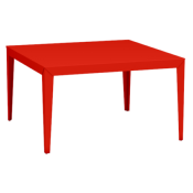 Table de Jardin Carrée Zef 130x130