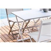 Table Jardin pliante 4 pers. Queen